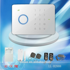 Factory directly offer! anti thef/anti-lost wired and wireless GSM home security alarm system - SHENZHEN LINLING ELECTRONICS CO.,LTD