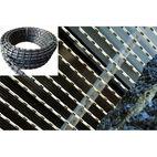 Diamond wire High Strength Plastic Multi-Wire for Granite Slab Cutting - Xiamen Qicheng Superhard Material Co., Ltd.