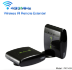 433MHz Wireless AV Sender and Receiver PAT-433 IR Remote Extender - Shenzhen Pakite Technology Co., Ltd