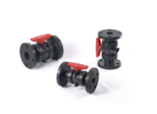 Flanged double-made valves - XIAMEN SANIDENT PLASTCS INDUSTRY CO., LTD
