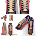 Genuine Leather Sneakers - Michelle...