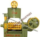 OIL EXPELLER / OIL SCREW PRESS MODEL : VK-10(1to2TPD) - Shreeji Expeller Industries