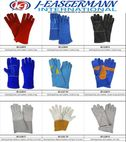 welding gloves, made of split leather - J-Eastermann International