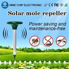 Solar convenient animal repeller outdoor animal control - Guangzhou Nine Chip Electron Science & Technology Co., Ltd.