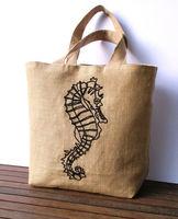 厂家直销 手提黄麻亚麻布袋 麻布购物袋低碳 绿色环保麻布手提袋 -