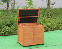 Caixa de armazenamento de madeira -