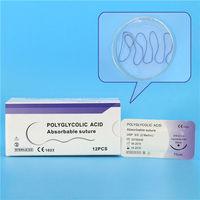 Sutura ácida poliglicólico -