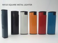 7.3cm cheapest rectangle turbo metal lighter-MV10 -