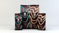 Granos de café tostados / motivos -