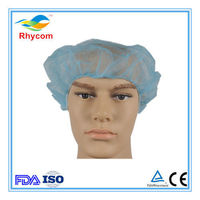 Disposable non-woven bouffant cap-RK1001 -