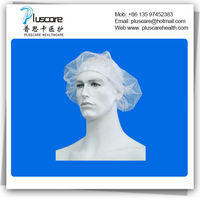 Disposable nylon hairnets -