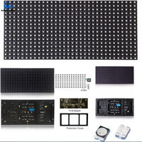 Exibir cores exterior impermeável fixo instalação P8 LED vídeo -
