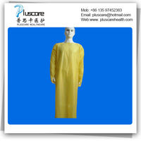 CPE plastic gown -