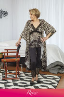 PAJAMAS GAME 3 PIECES SUPER MICRO AND LACE -