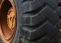 Los neumáticos del tractor -