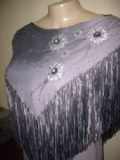 Handcrafted Blouses Embroidered With Small Stones -