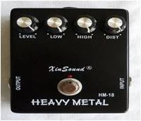 Heavy Metal Distortion Guitar Effect Pedal -