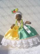 Hand-Made Brazilian Cloth Dolls -