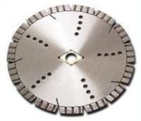 turbo segmented diamond circular saw blade for asphalt and concrete cutting -