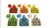 Marcas auriculares para identificação de animais -