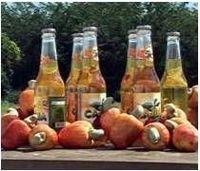 Anacardo zumo natural de noreste de Brasil -