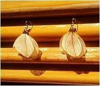 Leaf-Shaped Earring 05 -