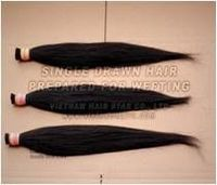 Natural color can be dye Human hair weaving -