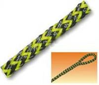 Twisted Polyethylene Rope - Black / Yellow -