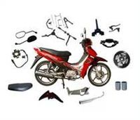 motorcycle parts-chain,side mirror,battery,etc -