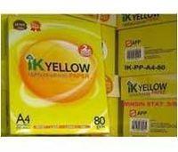 IK Yellow A4 Copy Paper 80gsm/75gsm/70gsm -