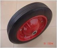Solid rubber wheel -