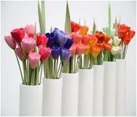 Cerámica Flowes - tulipanes -