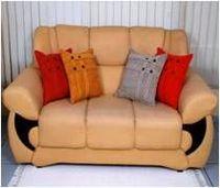 Truss Chenille Sofa Cushion -