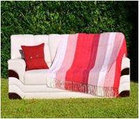 Chenille Striped Blanket -