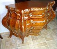 Large antique louis xv commode -