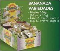 Plátano pasta dulce de la variedad -