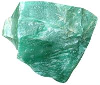 Rough Green Quartz -