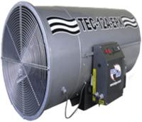 Generador de aire caliente de gas alimentado - Tec 12 Un Epx -