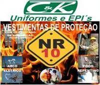 uniforme NR10 -