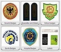 Uniform badges -