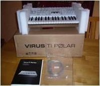 Access Virus Ti2 Polar (37-Key Virtual Analog Synth)---1400Euro -