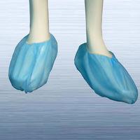 Disposable nonwoven shoe cover -