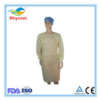 Non-woven isolation gown -