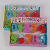 热卖数字形状橡皮擦学生儿童专用文具橡皮擦(EA-057) -