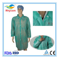Disposable non-woven lab suits/ lab coat/coverall -