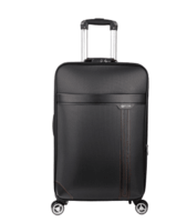 Black oxford trolley case for business -