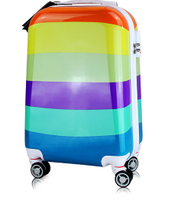 Korean style suitcase, colorful suitcase, Trolley case -