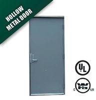 Steel fire door in flush type -