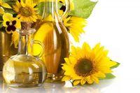 100% pure refined sunflower oil -