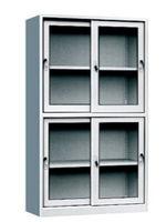 2 floors sliding door file cabinets -